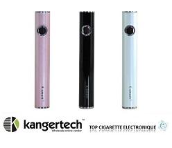 batterie e smart de kangertech rose noir ou blanche top cigarette electronique. Black Bedroom Furniture Sets. Home Design Ideas