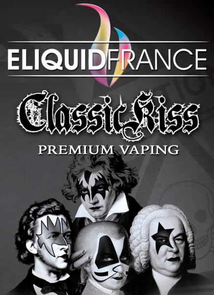 ELIQUID FRANCE Premium Classic Kiss sur Top Cigarette Electronique