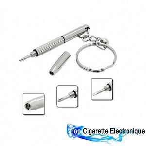 Mini tournevis porte cl s 3 en 1 top cigarette electronique - Porte cigarette electronique voiture ...